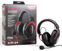 Kingston Hyper X Cloud Ii Pro Gaming Bla/red 7.1 Headset Pc/mac/ps4/xbox One F17