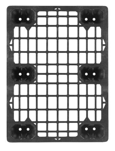 Kunststoffpalette 80 x 60 cm 1//2 Europalettenmaß