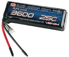 3600Mah 14.8V 4S 4 Cell 25C Venom LIPO BATTERY VEN15016