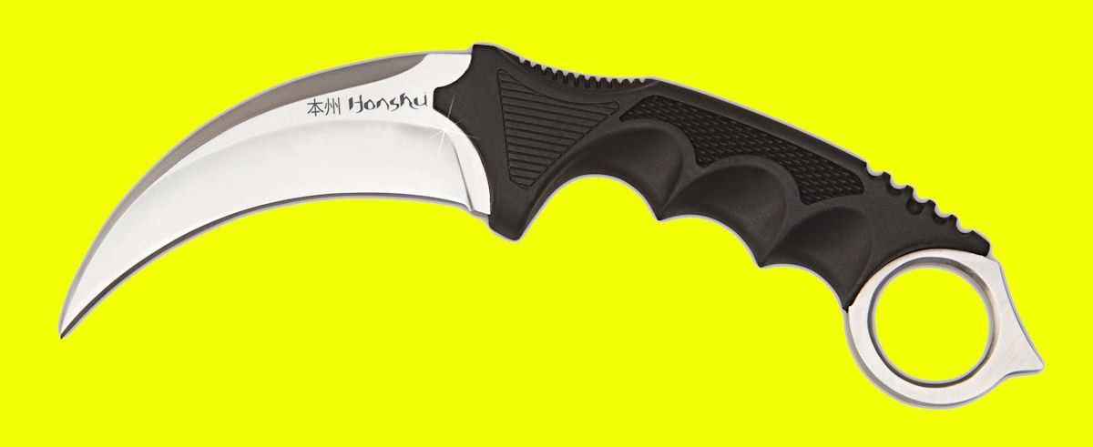 United Cutlery Honshu Kerambit Messer Taschenmesser Gürtelmesser & Etui 02UC2786