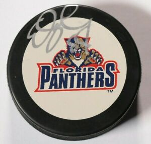 Ed-Jovanovski-Florida-Panthers-Signed-Autographed-Puck-NHL-Hockey-Auto