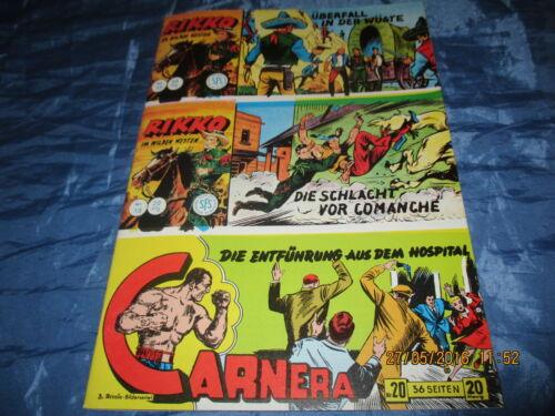 1436 : RIKKO  im Wilden Westen , Lehning  Piccolo Comics # 17 + 18 , Hethke 1992