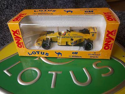 Onyx 010 Lotus 100t Courtaulds Satoru Nakajima Nuovo Di Zecca Boxed Variante 1-mostra Il Titolo Originale