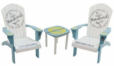 Adirondack Chair W Matching Side Table