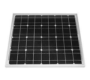 50-W-Solarmodul-Solarpanel-Photovoltaik-Solarzelle-50-Watt-mono-NEU-TUV-Zert
