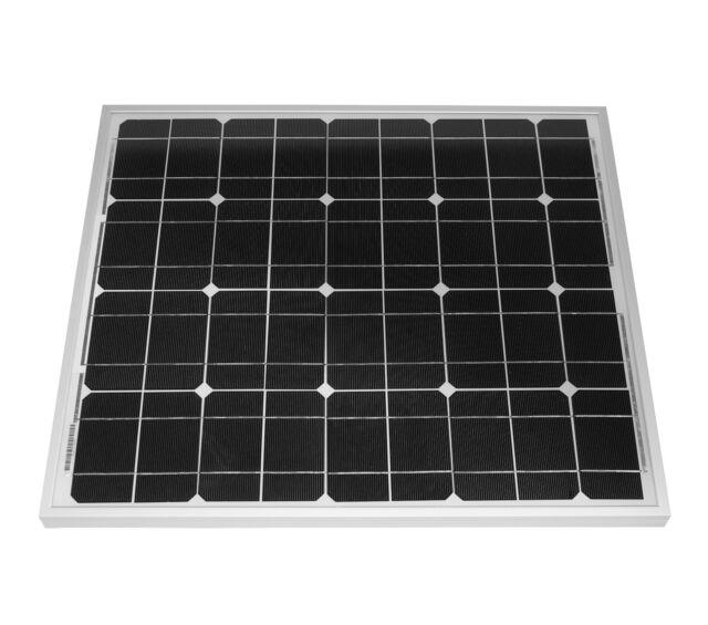 50 W Solarmodul Solarpanel Photovoltaik Solarzelle 50 Watt mono NEU