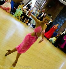 "Ballroom/Latin Competition DANCE dress ""Hot pink"""