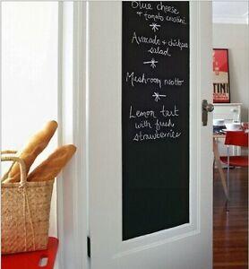 Vinyl-chalkboard-wall-stickers-removable-blackboard-greenboard-45-200cm-3-colors