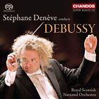 St'phane DenŠve Conducts Debussy Super Audio Hybrid CD (CD, Apr-2012, 2 Discs, Chandos)
