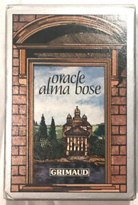 Details about Oracle Alma Bose Grimaud Vintage Tarot Cards Deck 1982  Bilingual French France