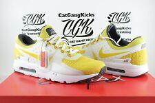 901e4918dca1 DS Nike Air Max Zero 0 QS Sulfur Yellow White AM0 Day 789695 100 Sz 11.5
