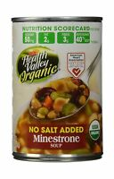 Health Valley Organic No Salt Added Soup Minestrone 15 Ounce (p... Free Shipping