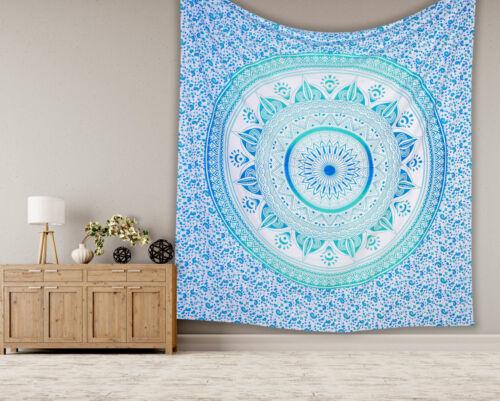Mandala Tapestry Indian Wall Hanging Decor Bohemian Hippie King Bedspread Throw