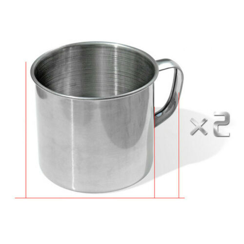 Details about  /8 Pcs Stainless Steel Camping Cookware Cooking Picnic Bowl Pot Pan Set Outdoor