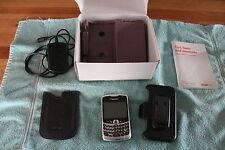 BLACKBERRY CURVE 8330  SILVER  VERIZON SMARTPHONE  BOX  ACCESSORIES - FOR PARTS?