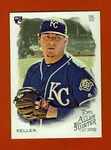 2019-Topps-Allen-amp-Ginter-Brad-Keller-RC-197-Kansas-City-Royals