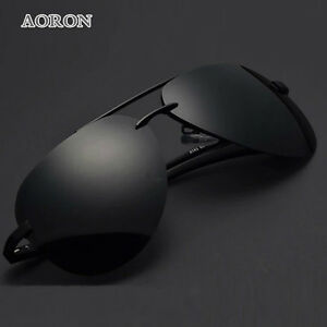 ba0b10e43d Image is loading Aluminum-frame-Polarized-Sunglasses-Men-039-s-Driving-