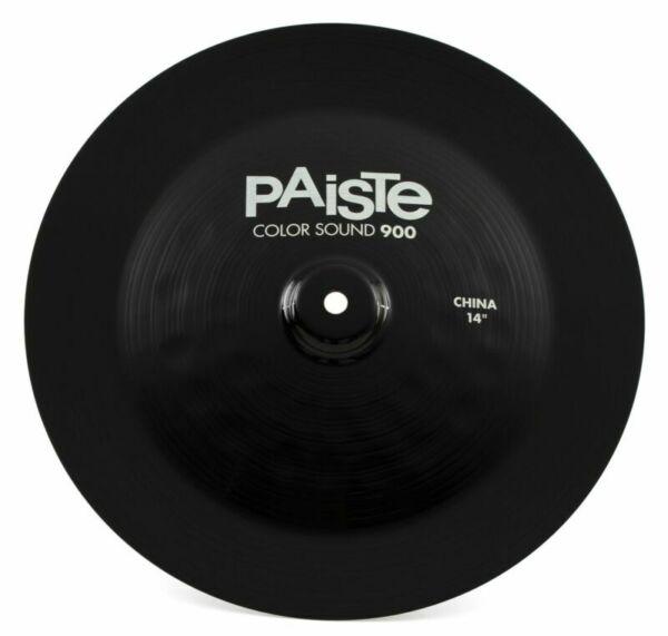 paiste 900 series color sound black 14 china cymbal for sale online ebay. Black Bedroom Furniture Sets. Home Design Ideas