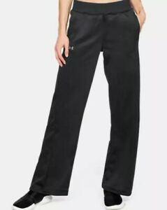 Under Armour Womens Synthetic Fleece Open Pant Pant