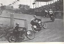 FOTO 1935 GP DEUTSCHLAND SACHSENRING ANDERSON RICHNOW MARSCHALL PORT IN DER ELST