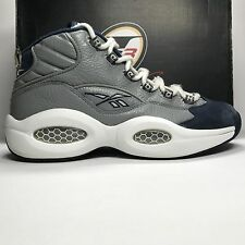 Reebok Question Mid Georgetown Grey/Navy Size 9