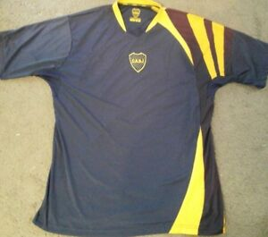 b0b8458b5 Club Atletico Boca Juniors CABJ Men s Soccer Jersey Size Large Great ...