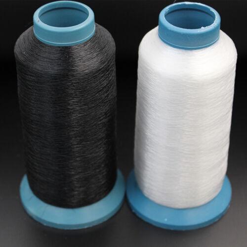 Nylon unsichtbar Nähen Faden schwarz//weiß Größe 0.10mm//0.12mm//0.15mm
