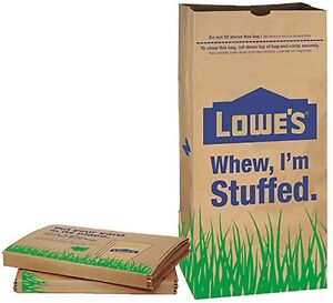 Details About Lowe S Lawn Leaf Yard Trash Bags 10 Count 30 Gallon Free Priority Shipping