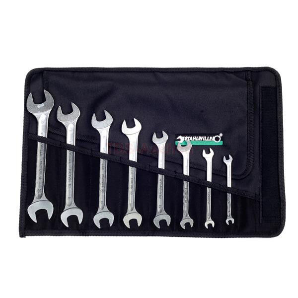 Stahlwille 8pc Metric Double Open Ended Spanner Set 6-22mm 10 8