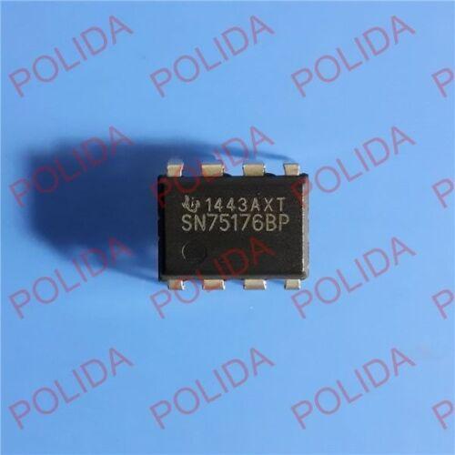 100PCS BUS TRANSCEIVER IC TI DIP-8 SN75176BP SN75176BPE4