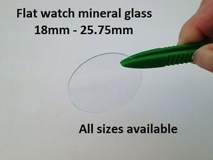 18mm-25-75mm-Tipo-plano-reloj-mujer-muneca-cristal-cristal-mineral-1mm-grueso