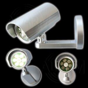 GRUNDIG-Sicherheits-Wandlampe-6-LED-039-s-Infrarot-Bewegungssensoren-Bewegungsmelder