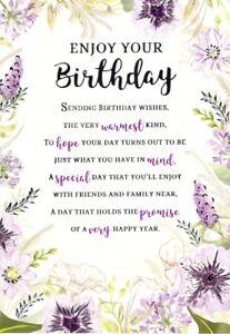 GREETING CARD - GENERAL BIRTHDAY - FREE POSTAGE H2-19