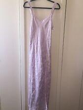 Neiman Marcus night gown Purple Large Lingerie Slip Negligee Retail $125