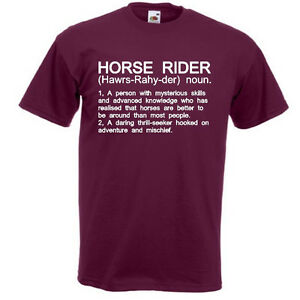 Awesome Image Is Loading HORSE RIDER Funny Men 039 S T Shirt Riding