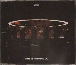 FRENCH-CD-SINGLE-MUSE-TIME-IS-RUNNING-OUT-JEWEL-CASE-COLLECTOR-COMME-NEUF-RARE