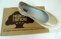 Kalso Earth Shoes Insignia Leather Flats Shoe Distressed Gold Ballet 8 M