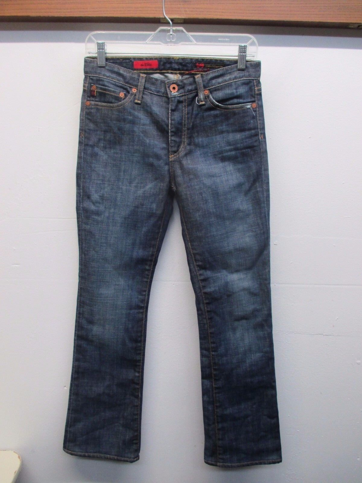 AG Adriano goldschmied The Elite Women's Dark bluee Jeans (Size  26) Made In USA