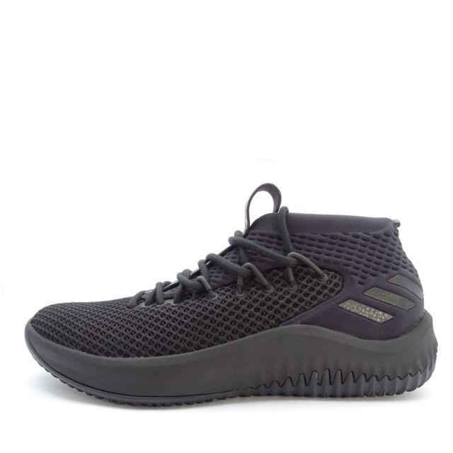 Adidas Dame 4  BW1518  Men Basketball Shoes Dame Time Damian Lillard  Black Black b58fbf5c1