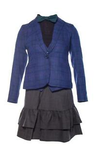 Second-Act-Ariana-Screen-Worn-Jacket-Vest-Shirt-Skirt-amp-Tie-Ch-10-Sc-110-113