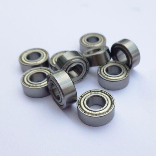 MR85ZZ L-850ZZR Miniature Metal Ball Bearings Miniature Bearings 5x8x2.5mm 5PCS