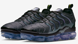 2b683aeada63f Nike Air VAPORMAX PLUS Grid Black Dark Grey Aluminum 924453-014 mens ...