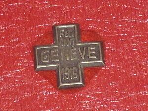 [Coll.J. DOMARD SPORTS] MEDAILLE FETE CANTONALE GENEVE 1916 Suisse Gymnastique