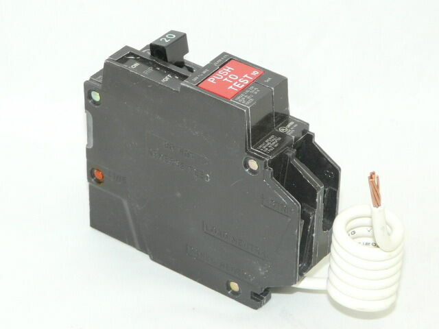 GENERAL ELECTRIC #THQB1120GF 20AMP GRD FAULT BREAKERS//FREE SHIPPING