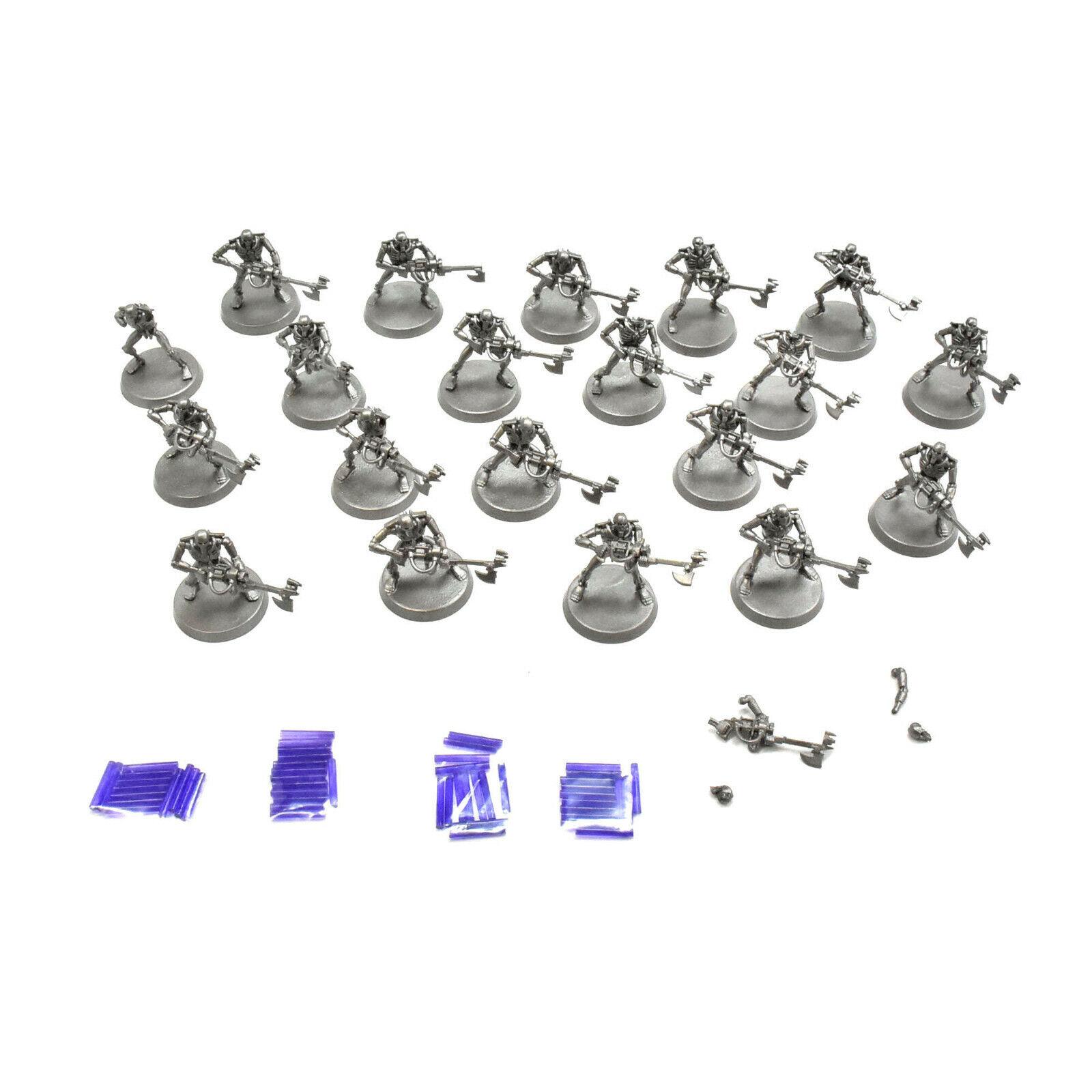 NECRONS 20 necron warriors Warhammer 40K necron purple