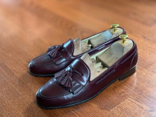 Bragano By Cole Haan Tassel Loafer Shoes 10.5 M