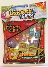 The Grossery Gang season 1 corny chips pack NEW exclusive 10 pack *moose toys