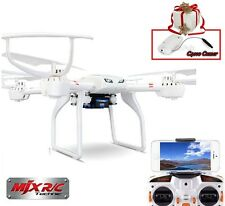 MJX X101 2.4G 6-Axis Gyro Quadcopter RC Drone Super Cool Helicopter w/C4010 Cam