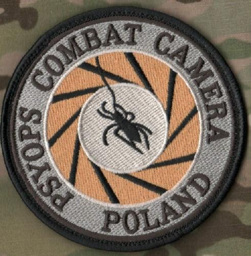 POLAND COMBAT CAMERA KANDAHAR WHACKER CLUB PRO-TEAM JSOC JTF PSY OPS INSIGNIA