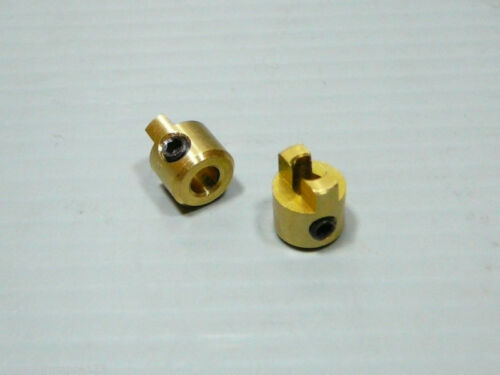 "1//8/"" 3.18mm Drive Dog CNC Brass EP Nitro Boat Marine Prop Propeller 2X Piece"